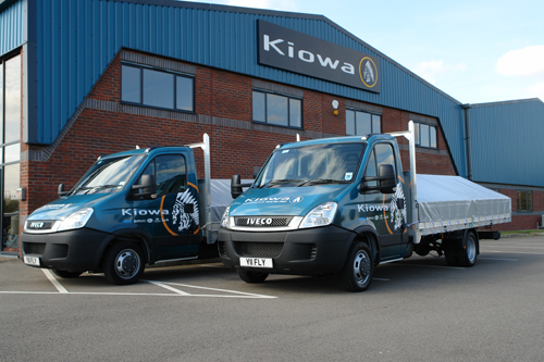 Kiowa gets Brand New Local Delivery Vans