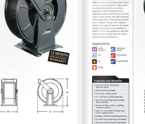 New Hose Reel Catalogue – Coming Soon