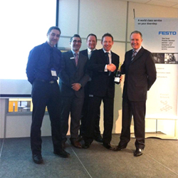 Kiowa wins Festo Premier Distributor for the second year running!