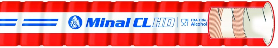 Minal CL HD Twin Helix Brewery Hose