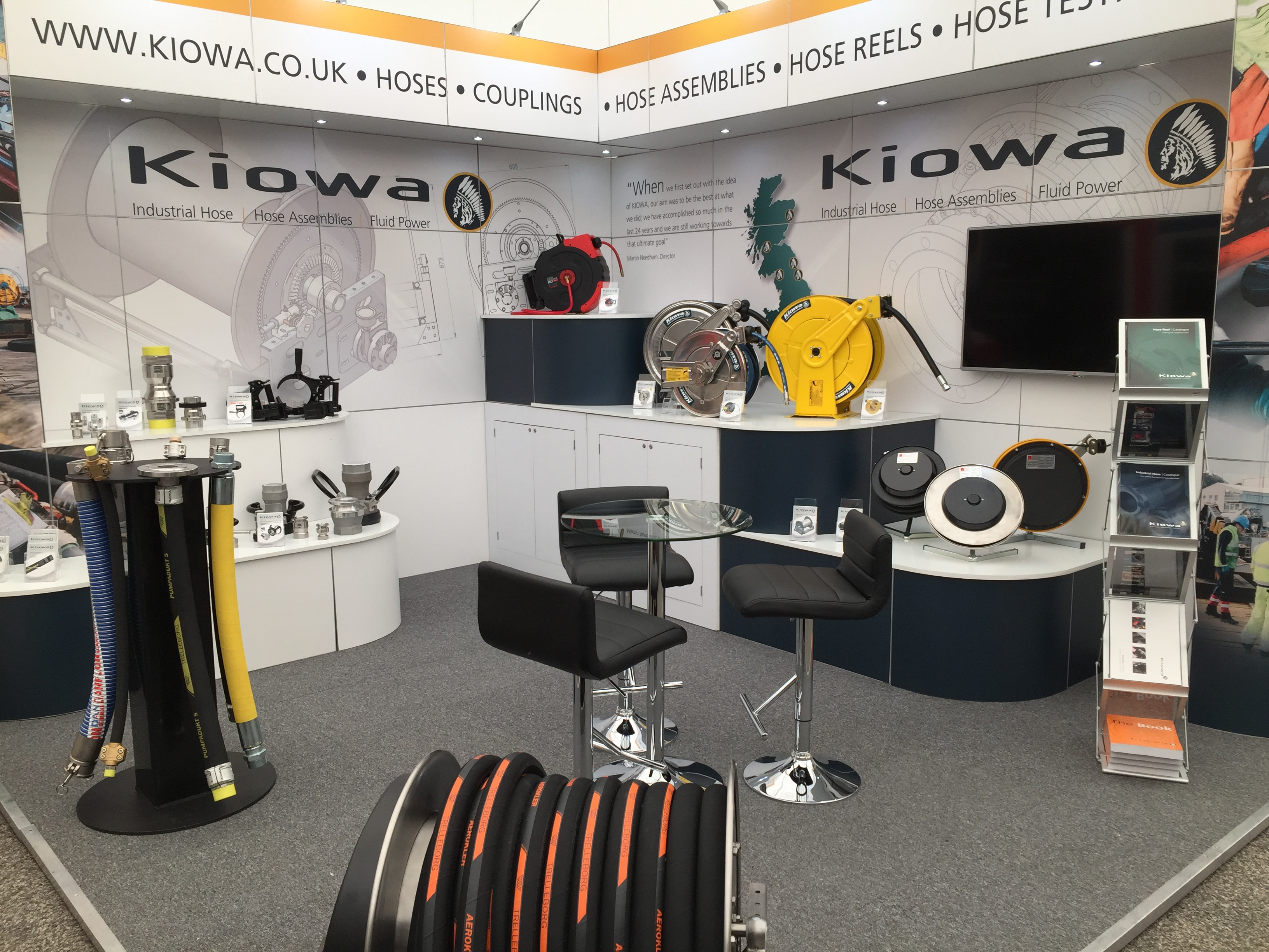 Kiowa at the SPE Offshore Show