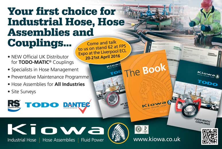 Kiowa Ltd to Attend FPS Expo Show in Liverpool 20th -21st April