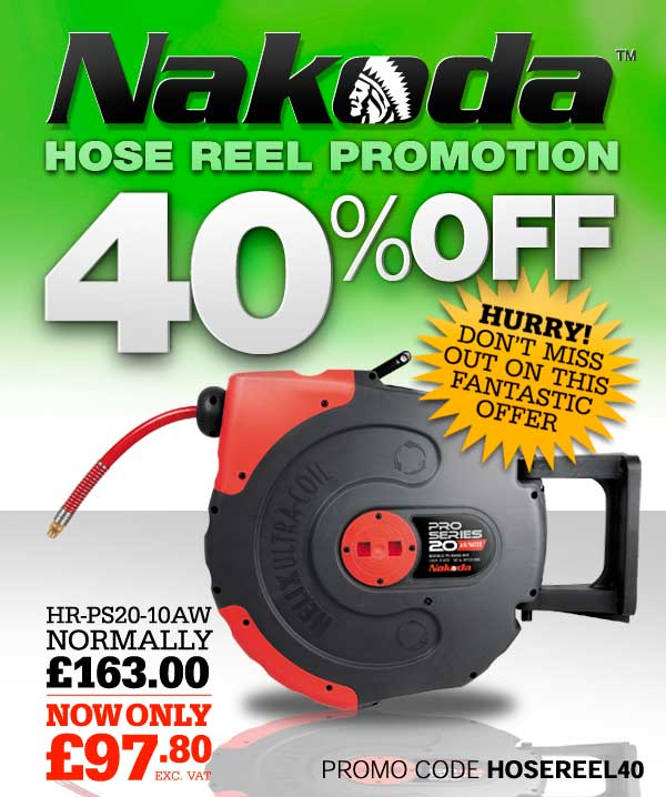 Nakoda™ Hose Reel 40% OFF