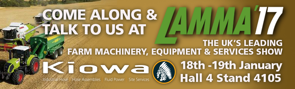 Kiowa to Attend LAMMA'17 for the First Time.