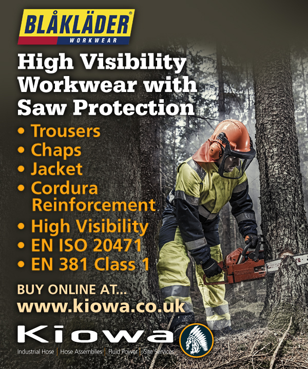 NEW Blaklader Workwear Hi-Vis Chainsaw / Saw Protection Clothing Online