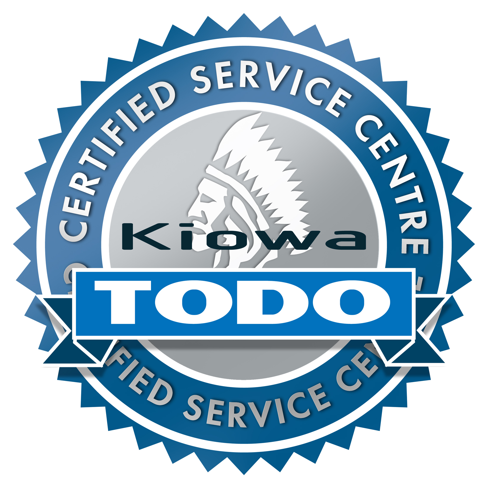 Kiowa Awarded Recognition as an 'Official TODO Certified Service Centre'