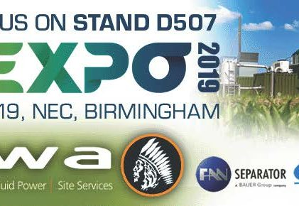 UK AD & Biogas Expo 2019