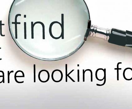 Can't Find What You Are Looking For?