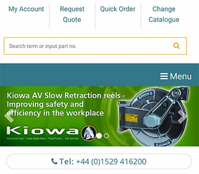 Kiowa Website is Mobile Friendly